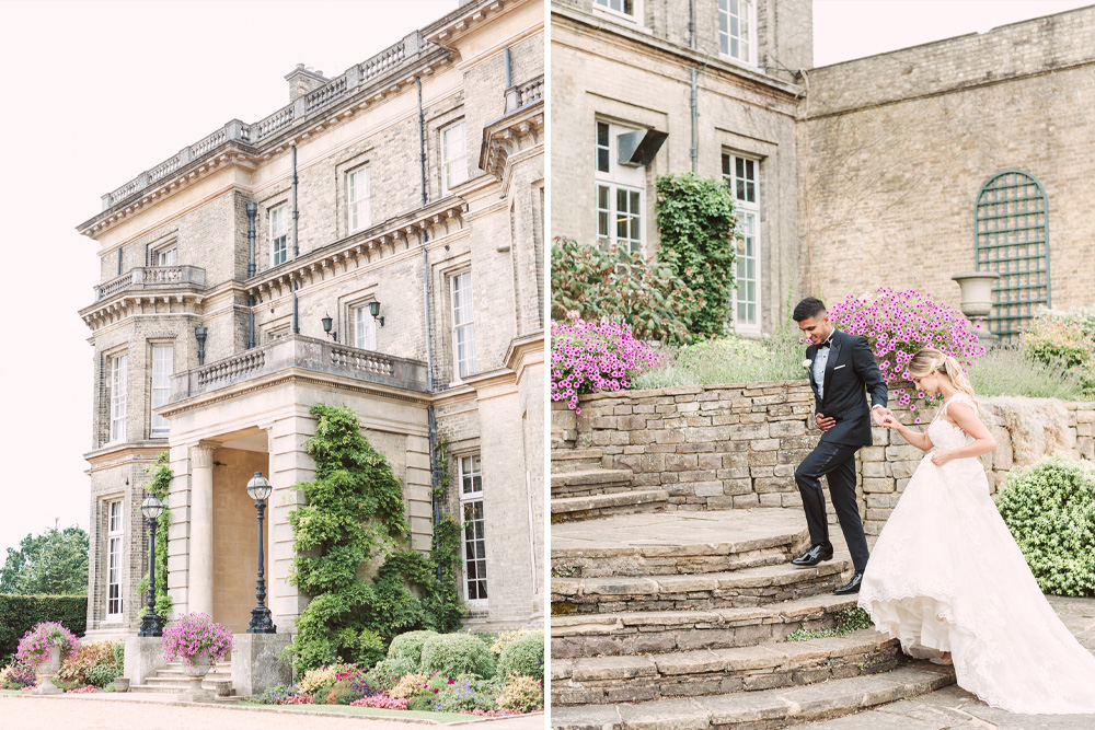 Fine Art Photography Wedding at Hedsor House with Bride in Pronovias Wedding Dress and Groom in Dior, shot by Christina Sarah Photography