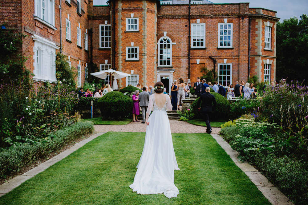 Country wedding venue Iscoyd Park Image by Lily Stein Photography