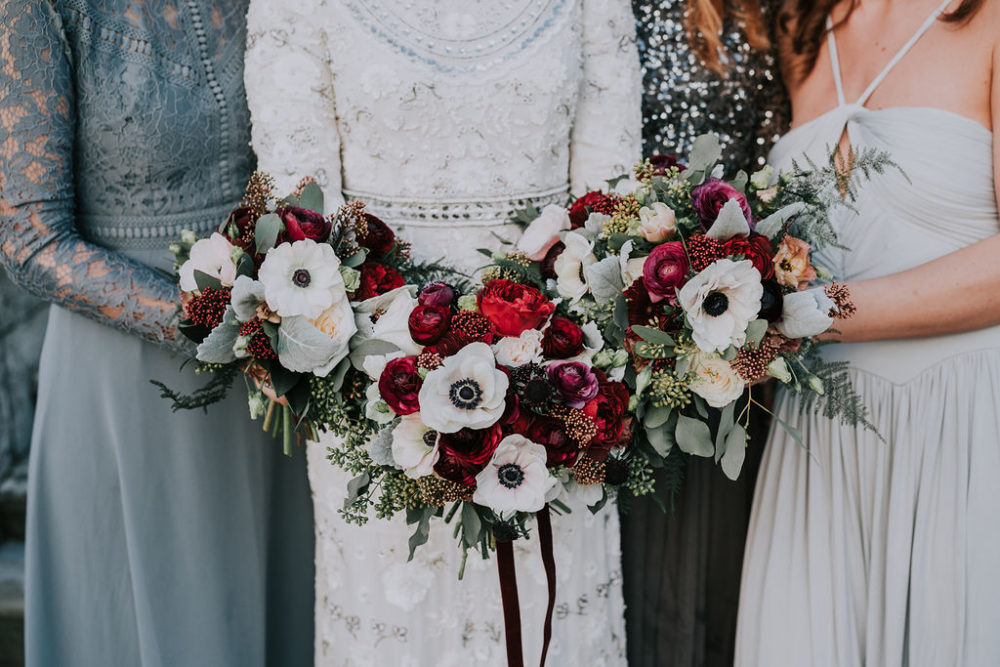 Daisy Ellen Flowers Autumn Wedding Bouquet Image By Kim Williams