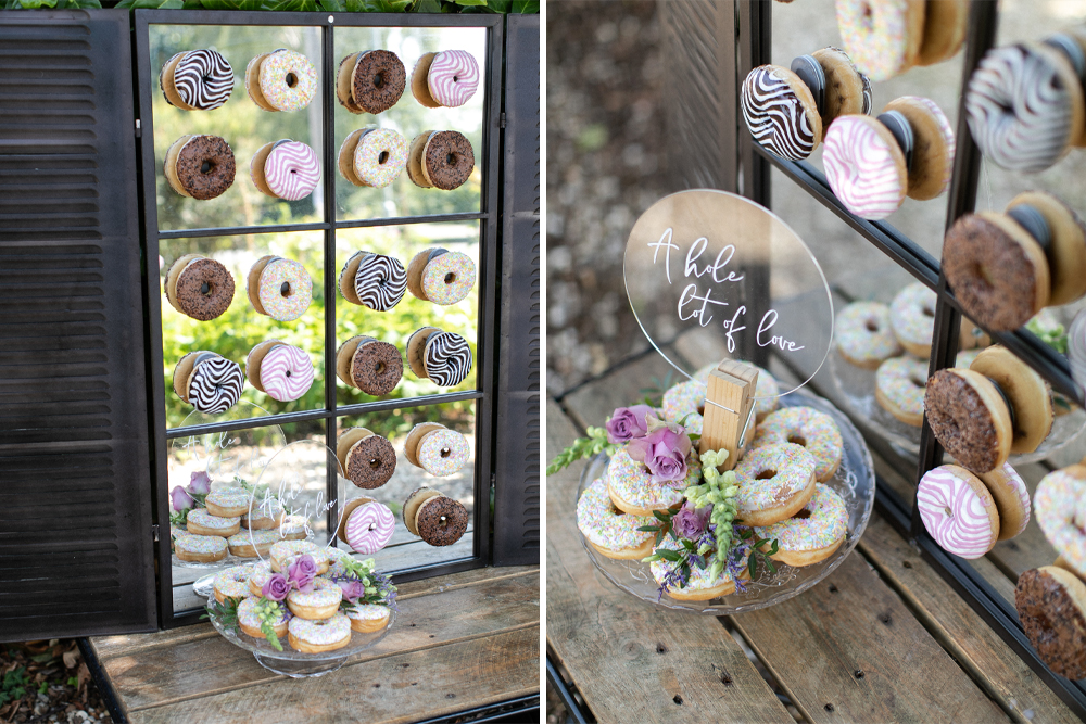 DIY Doughnut Wall