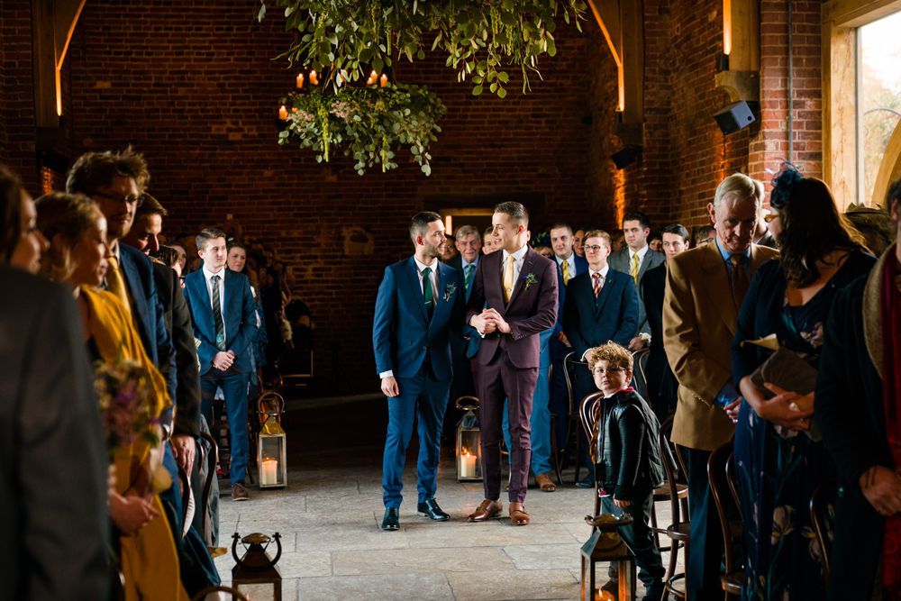 Harry Potter Wedding Theme for a Same-Sex Wedding at Hazel Gap Barn in Nottinghamshire by Martin Cheung Photography & No Ordinary Films