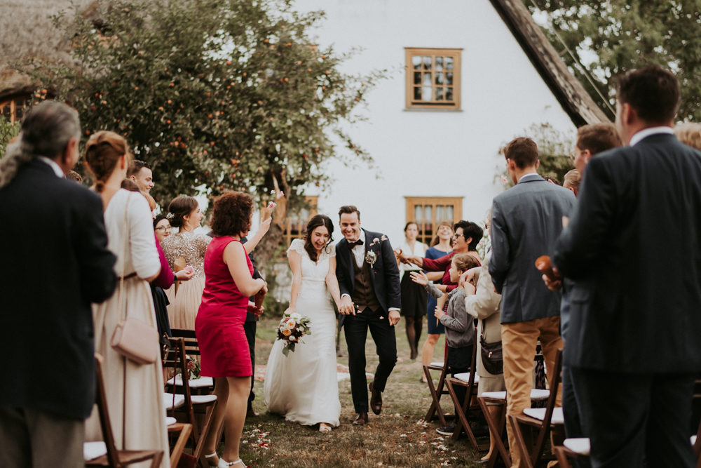 Outdoor Wedding Blessing