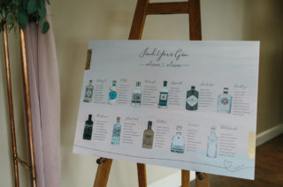Gin Table Plan
