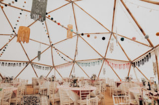 Geodome Wedding