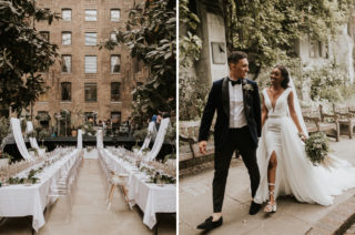 Devonshire Terrace Wedding with Made With Love Bridal Gown