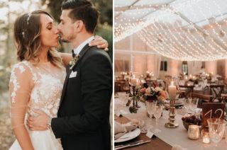 Destination Wedding Planner For Elegant Black Tie Tuscany Celebration