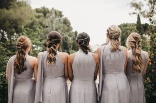Wedding Hairstyles For The Whole Bridal Party