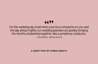Why you should have a wedding planner
