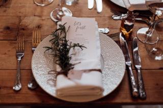 small wedding menu ideas