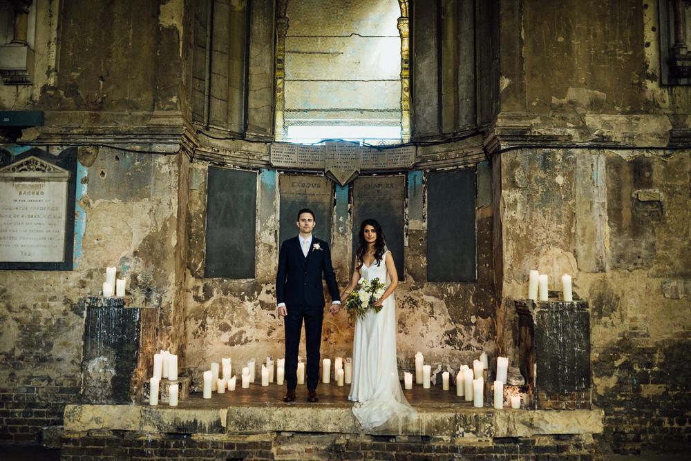 Bermondsey Yard Cafe Wedding From Michelle Wood Photographer