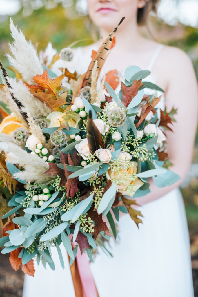 Autumn Wedding Flowers Inspiration From The List Rock