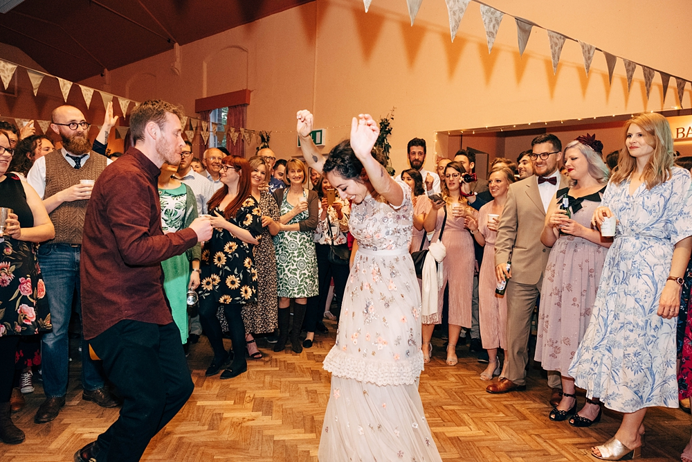 diy village hall wedding with budget under 1635k eco friendly
