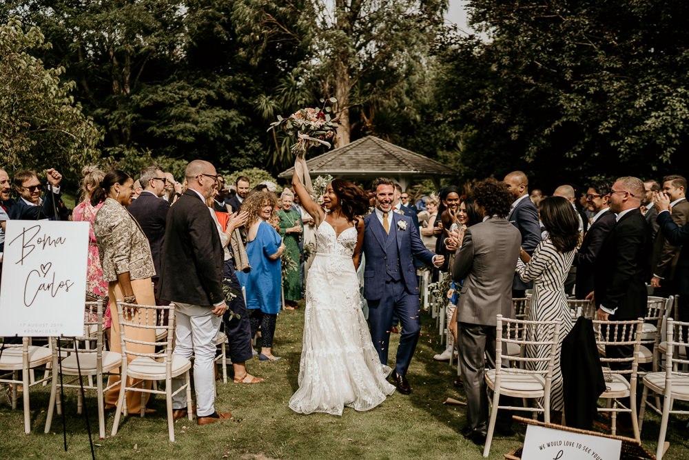 Nigerian Wedding With Riki Dalal Wedding Dress Anthurium Flowers