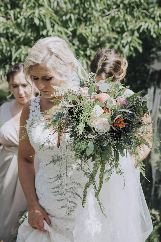 25215517135e Bride in Lace Mori Lee Wedding Dress   Wedding Weekend at West Lexham  Manor, Norfolk