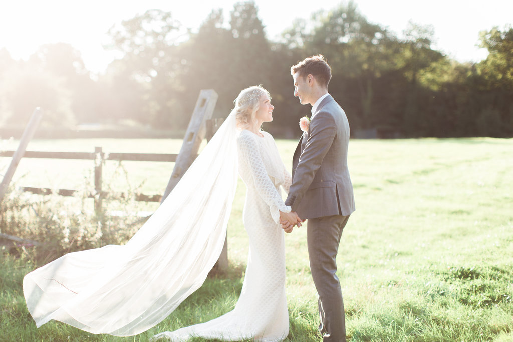 c895d9615b259 ... Amy Fanton Photography. Fine Art Wedding Portraits // Needle & Thread  Bridesmaids Dresses For A Pink And Mint