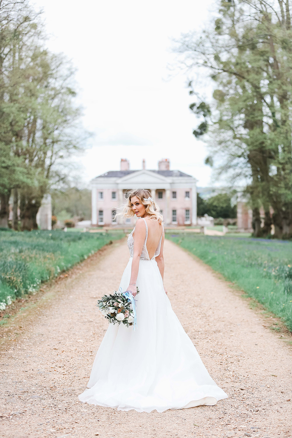 Effortless French Chic At Hale Park Hampshire By Charlotte Wise