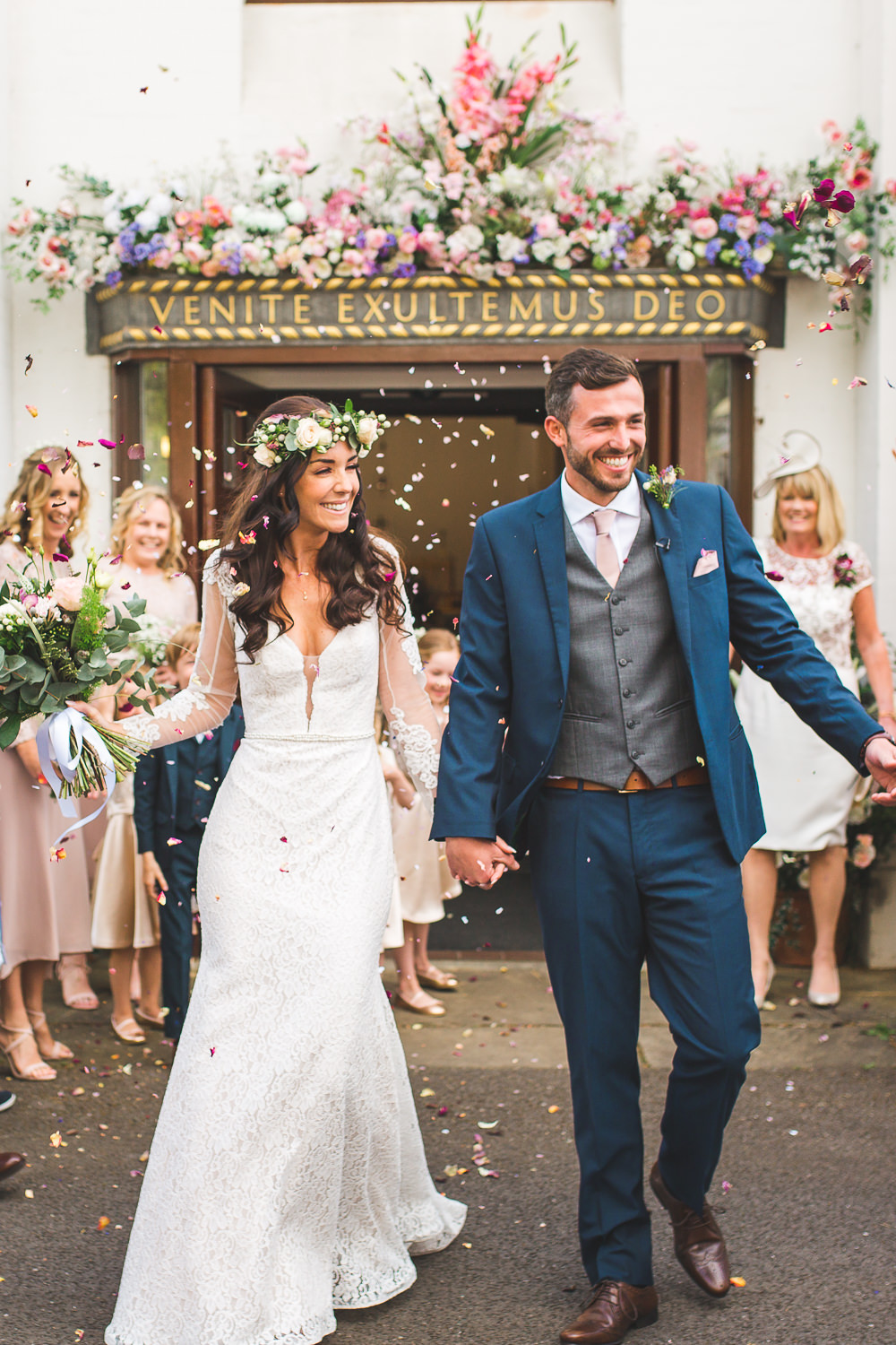 Spring Boho Festival Themed Wedding With Flower Crowns Pastel