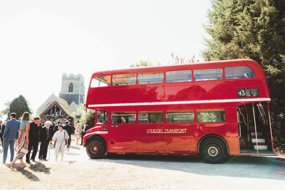 Quintessential English Country Wedding In Glass Marquee At Family Home