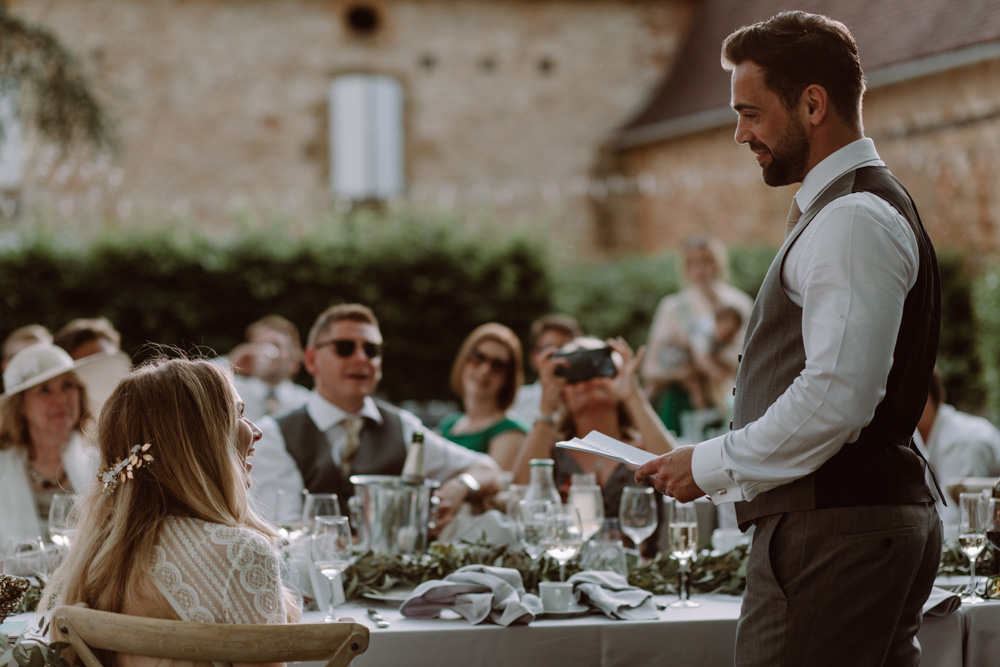 Intimate French Destination Wedding With Outdoor Ceremony