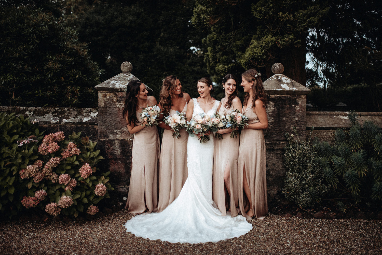 Vintage Wedding Dresses East Sussex: Country Wedding At Wadhurst Castle With Suppliers From RMW