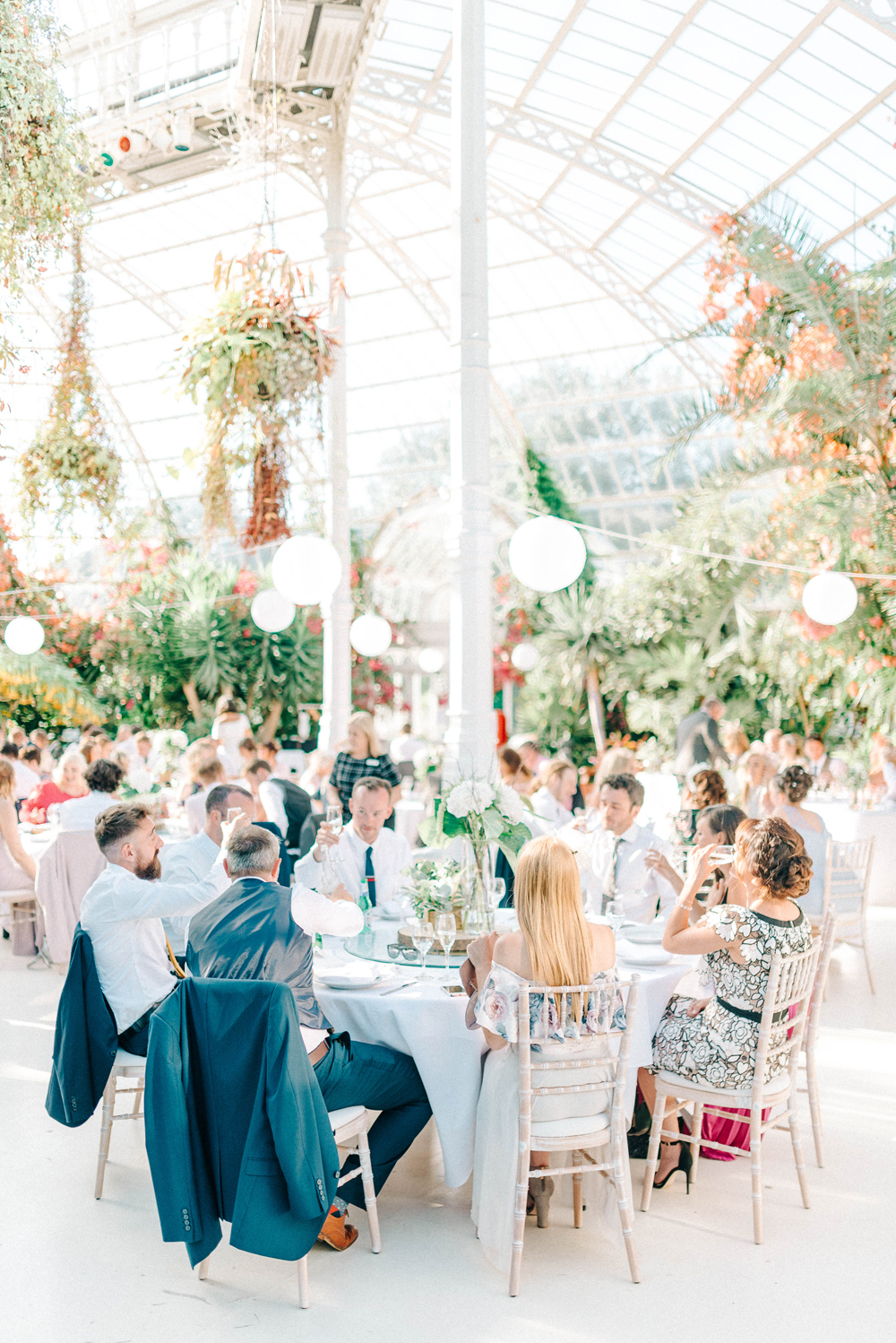 Giselle Dress By Anna Campbell Sefton Park Palm House Wedding