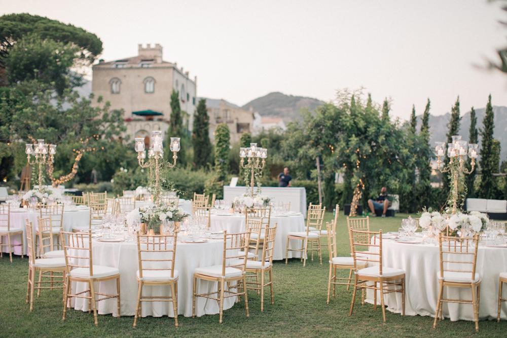 Three Day Ravello Wedding At Villa Cimbrone On Amalfi Coast