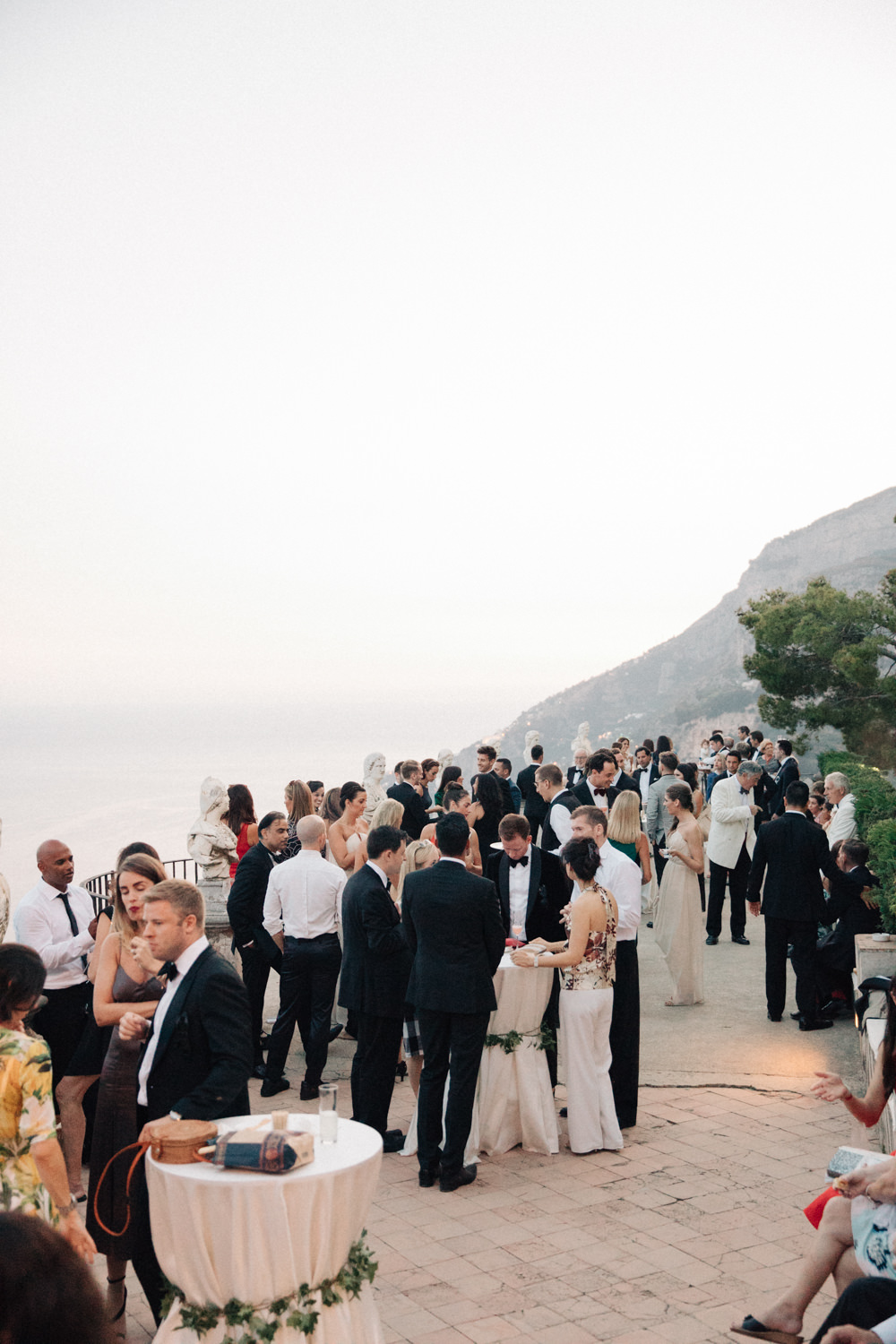 Three Day Ravello Wedding At Villa Cimbrone On Amalfi Coast