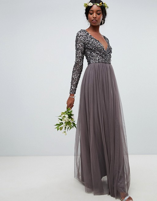 b6a99bc8fa388 Bridesmaids Dresses For Winter And Autumn Weddings From The High Street