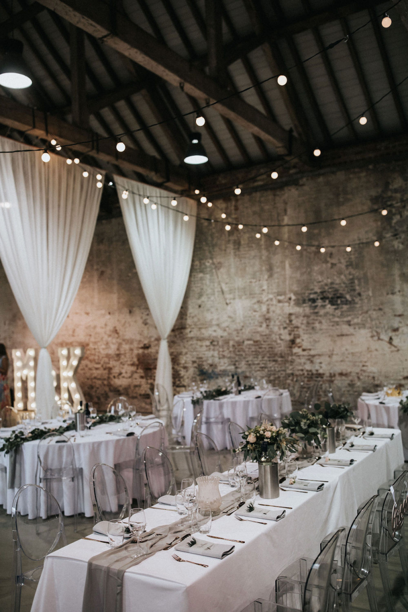 Floral Moon Gate Wedding Decor At Calke Abbey Derbyshire And