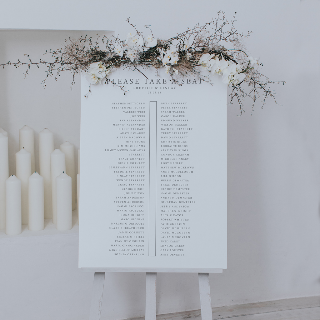 Plan A Wedding.Original And Stylish Ideas For Your Wedding Table Plan For 2019