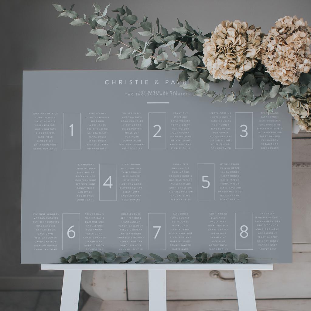 Wedding Table Plans Ideas: Original And Stylish Ideas For Your Wedding Table Plan For