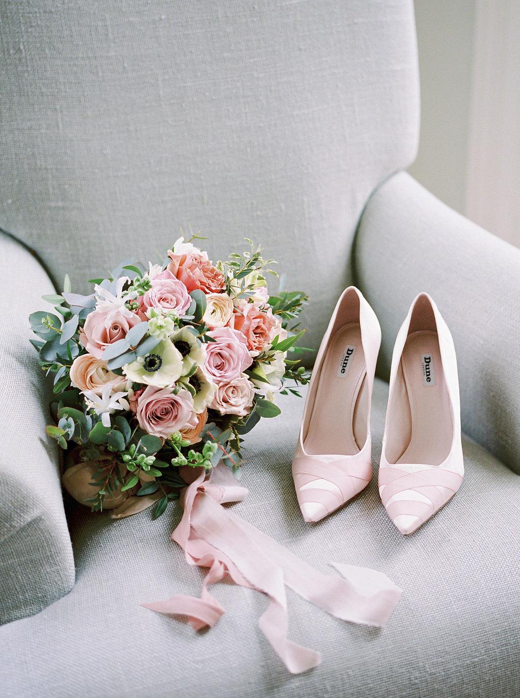 92d8244c6551 Naomi Neoh Wedding Dress For Blush Pink Ballet Inspired Shoot At ...