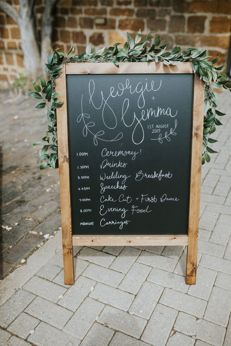 Wedding Order Of The Day A Guide To What Should Happen And When