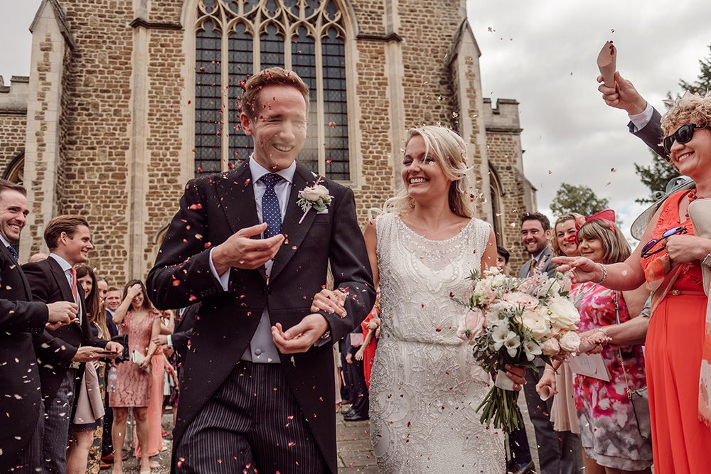 e4319ab3a2 Bride wears Jenny Packham from Brides Dress Revisited