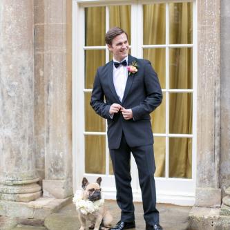 Groom in Black Tie | Spring Equinox at Thorpe Manor Wedding Venue by Revival Rooms | Anneli Marinovich Photography