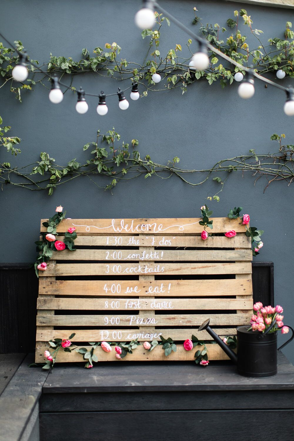 Wooden Pallet Wedding Sign Make Your Own For Under 163 10